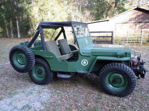 1945 Willys CJ2A Jeep for sale