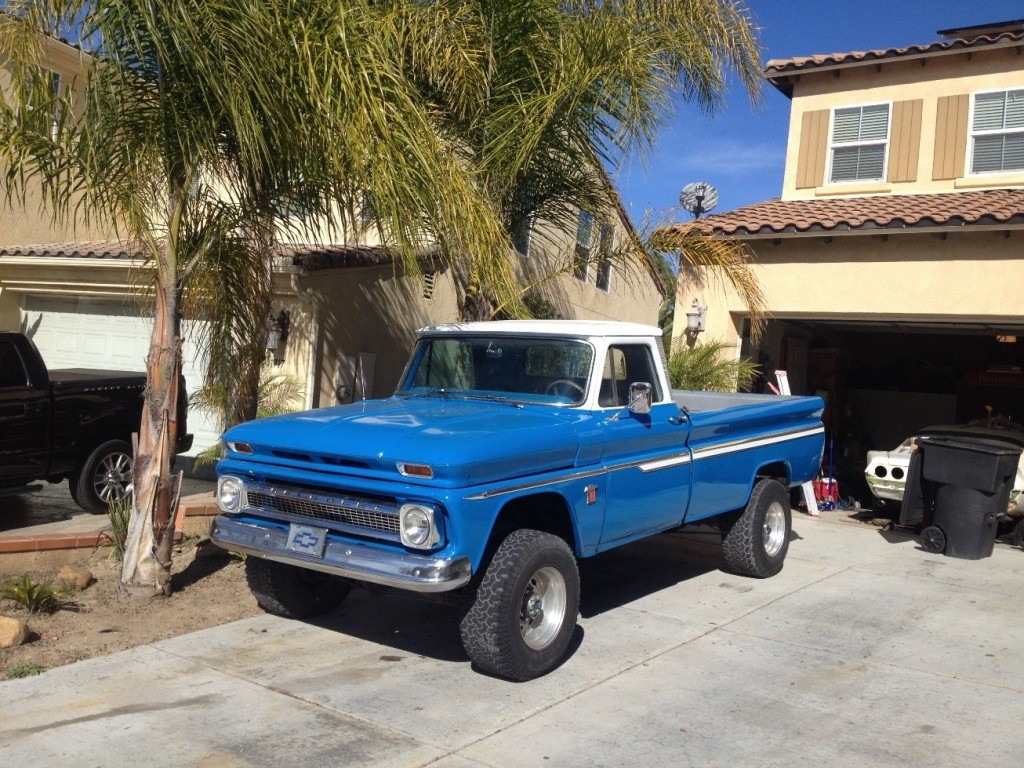 1964 CHEVY C10 WITH A 3/4 TON 4X4 SUSPENSION for sale