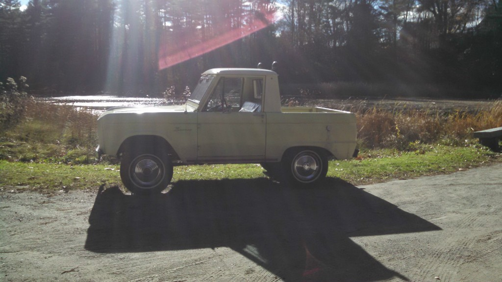 1966 Ford Bronco Half Cab Springtime Yellow For Sale