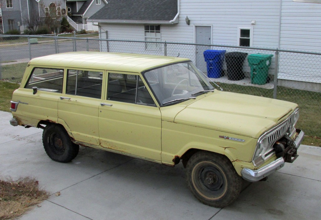 1966 Jeep Wagoneer Original Paint And Factory Winch For Sale