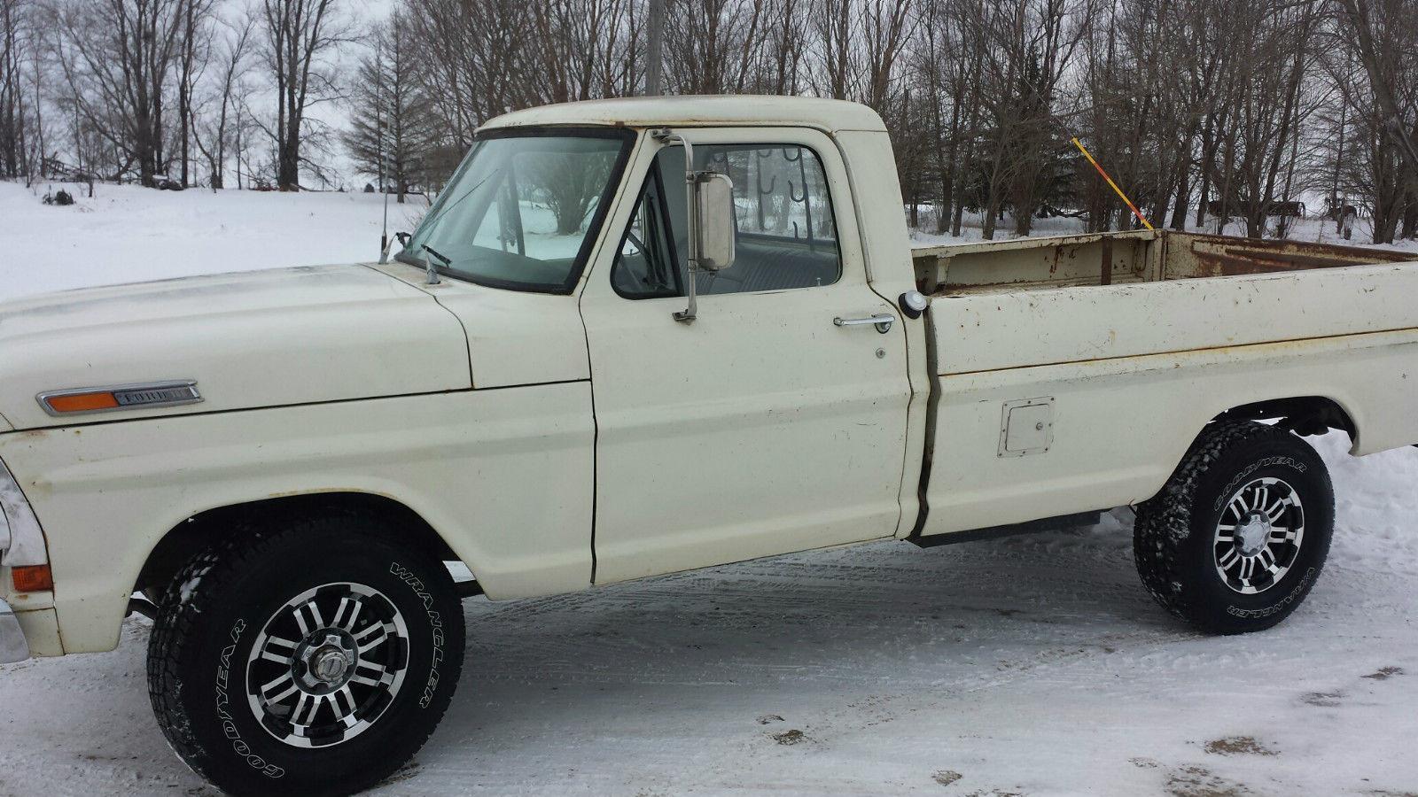 1970 ford f100 4 4 pickup truck for sale. Black Bedroom Furniture Sets. Home Design Ideas