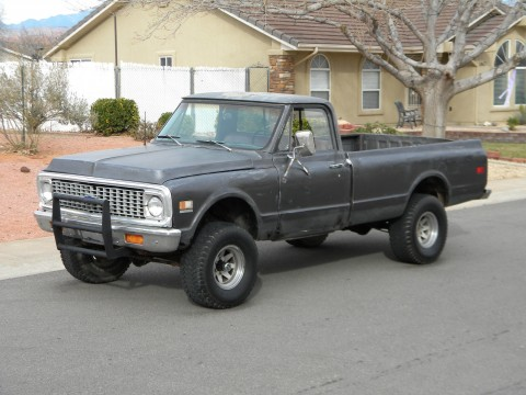 1971 Chevrolet K10 4X4 half-ton long bed pickup truck for sale
