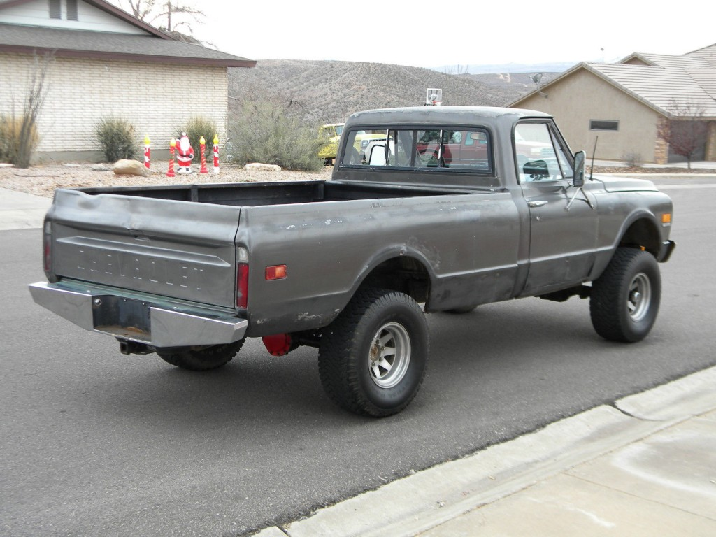 Chevrolet K X Half Ton Long Bed Pickup Truck Offroads For Sale X on 1993 Chevrolet Blazer Parts