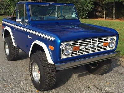 1976 Ford Bronco in Excellent condition for sale