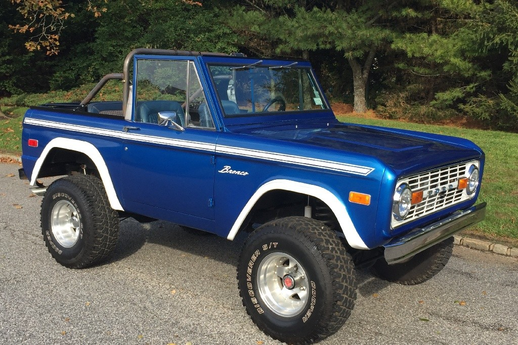 2016 Ford Bronco >> 1976 Ford Bronco in Excellent condition for sale