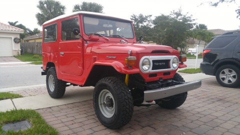 1976 Toyota Land Cruiser Fj40 2F for sale