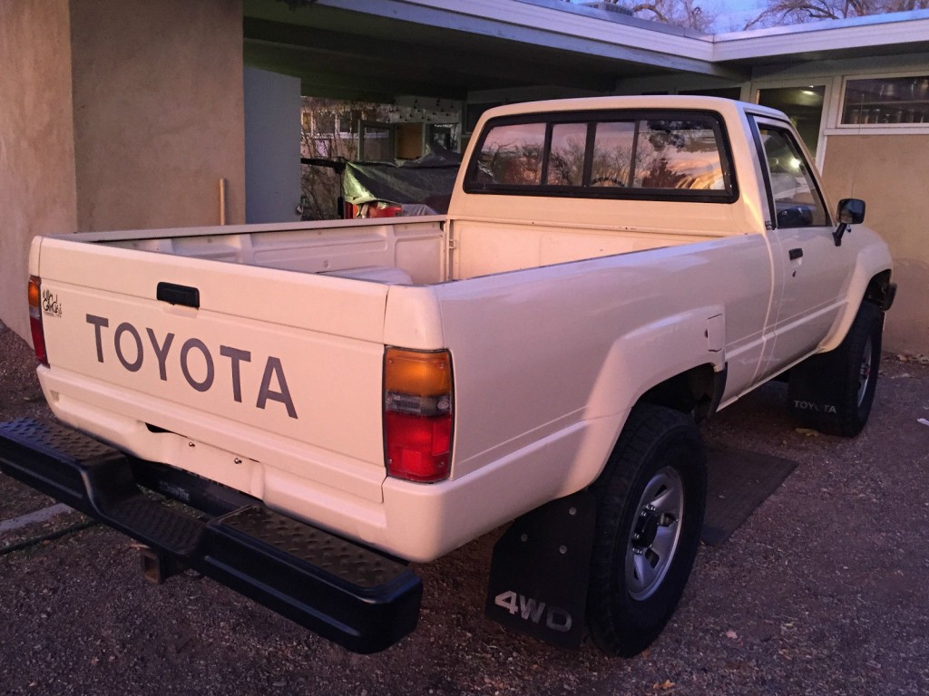 1986 toyota tacoma 4x4 pickup truck for sale. Black Bedroom Furniture Sets. Home Design Ideas