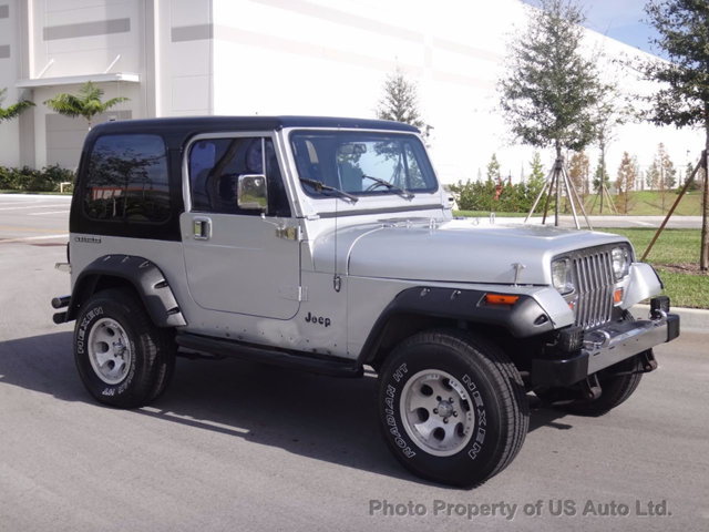 1988 jeep wrangler yj 4 2l inline six automatic hardtop for sale. Black Bedroom Furniture Sets. Home Design Ideas