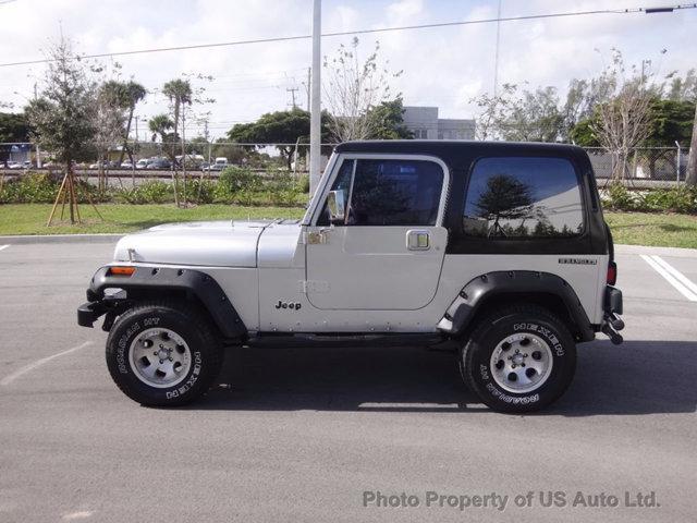 1988 jeep wrangler yj 4 2l inline six automatic hardtop for sale. Black Bedroom Furniture Sets. Home Design Ideas