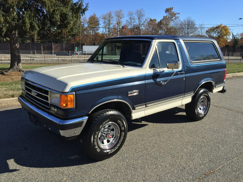 1989 ford bronco xlt 4speed survivor for sale. Black Bedroom Furniture Sets. Home Design Ideas