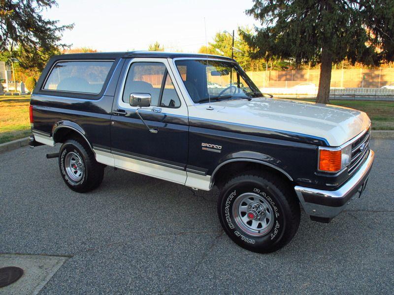 1989 Ford Bronco Xlt 4speed Survivor For Sale