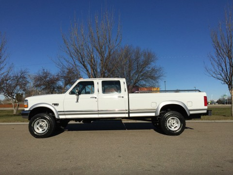 1996 Ford F 350 Lariat 7.3L Powerstroke Diesel Crewcab for sale