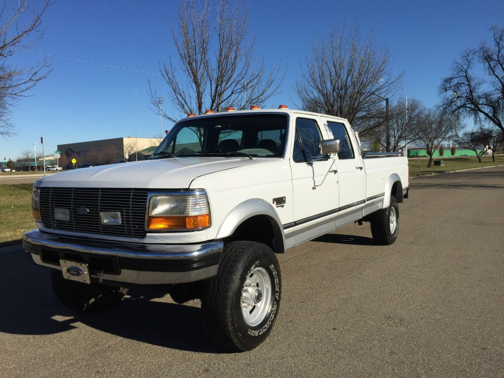 1996 ford f 350 lariat 7 3l powerstroke diesel crewcab for sale. Black Bedroom Furniture Sets. Home Design Ideas