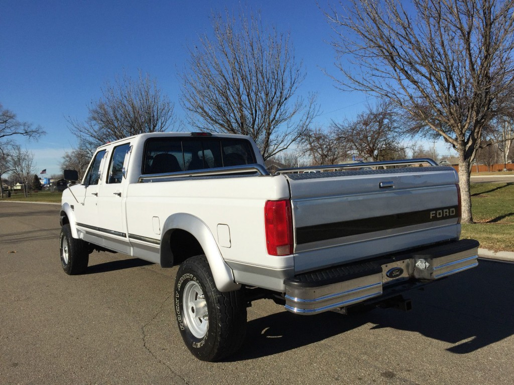 7.3 Powerstroke For Sale >> 1996 Ford F 350 Lariat 7.3L Powerstroke Diesel Crewcab for sale