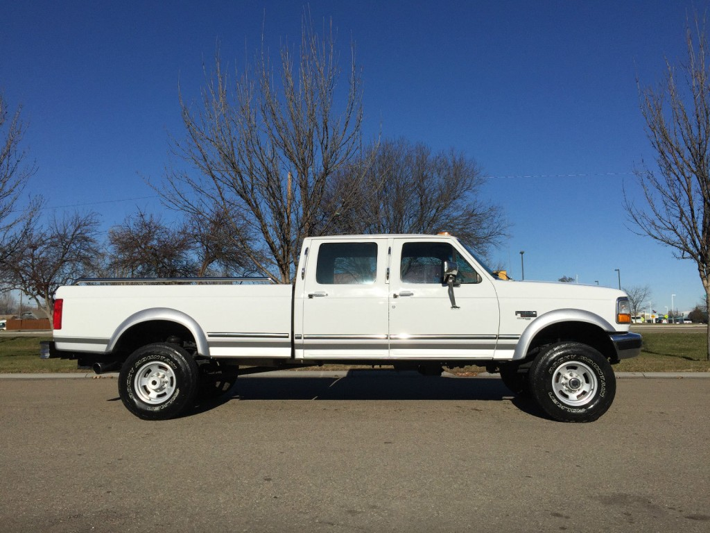 1996 Ford F 350 Lariat 7 3l Powerstroke Diesel Crewcab For