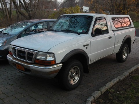 2000 Ford Ranger XL Standard Cab Pickup for sale