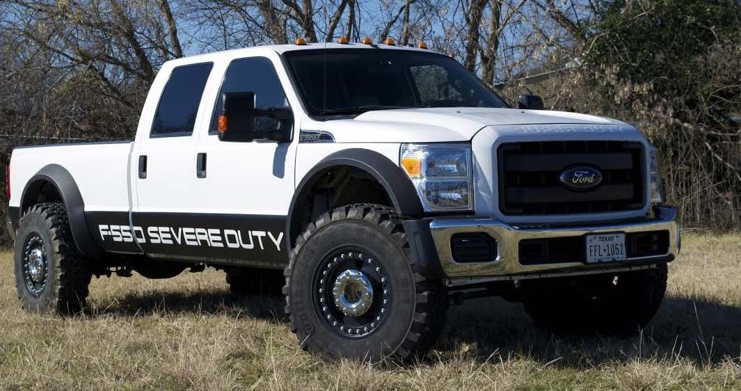 2008 Ford F 550 Lariat Conversion To Severe Duty F 550 4