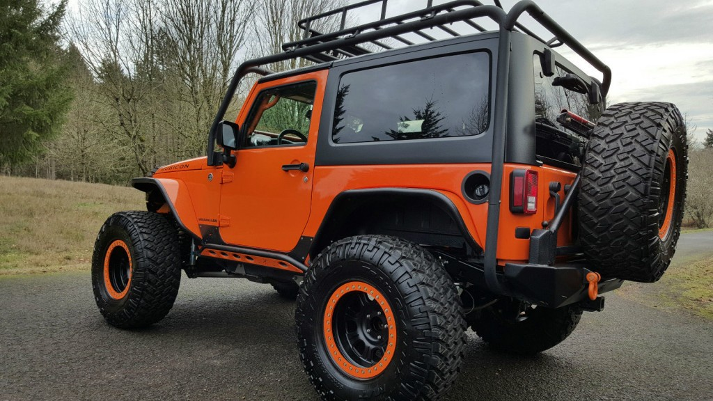 2013 Jeep Wrangler Rubicon Lifted For Sale