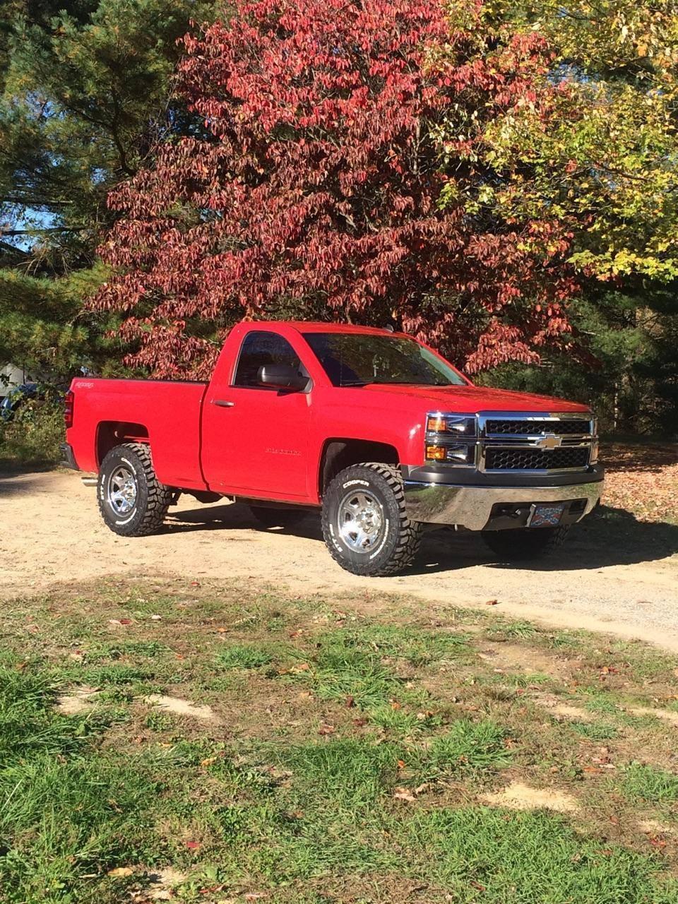 2014 Chevrolet Silverado 1500 5.3 V8 4X4 Red for sale