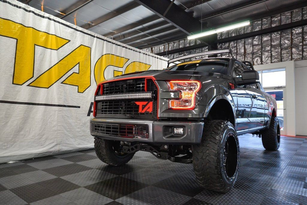 2015 Ford F-150 Lariat Supercab 8 ft. 4WD (SC PRO4)
