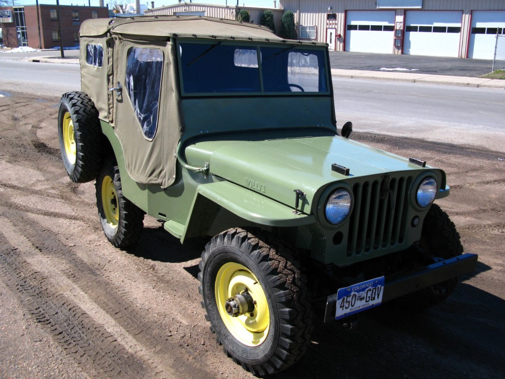 1946 willys willys overland cj2a for sale. Black Bedroom Furniture Sets. Home Design Ideas