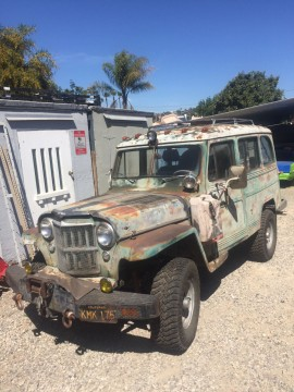 1956 Willys Overland Wagon v8 283 for sale