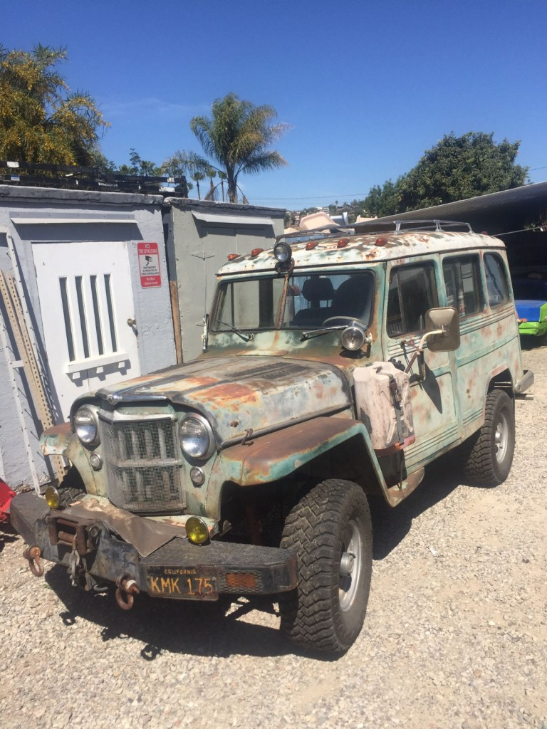 Willys Jeep Truck For Sale >> 1956 Willys Overland Wagon v8 283 for sale