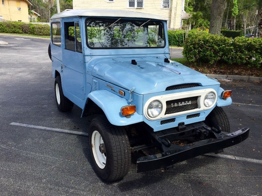 1970 Toyota Land Cruiser Fj 40 For Sale