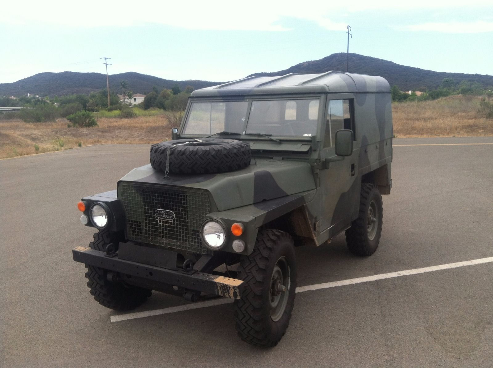 1971 Land Rover Series 2a Lightweight For Sale