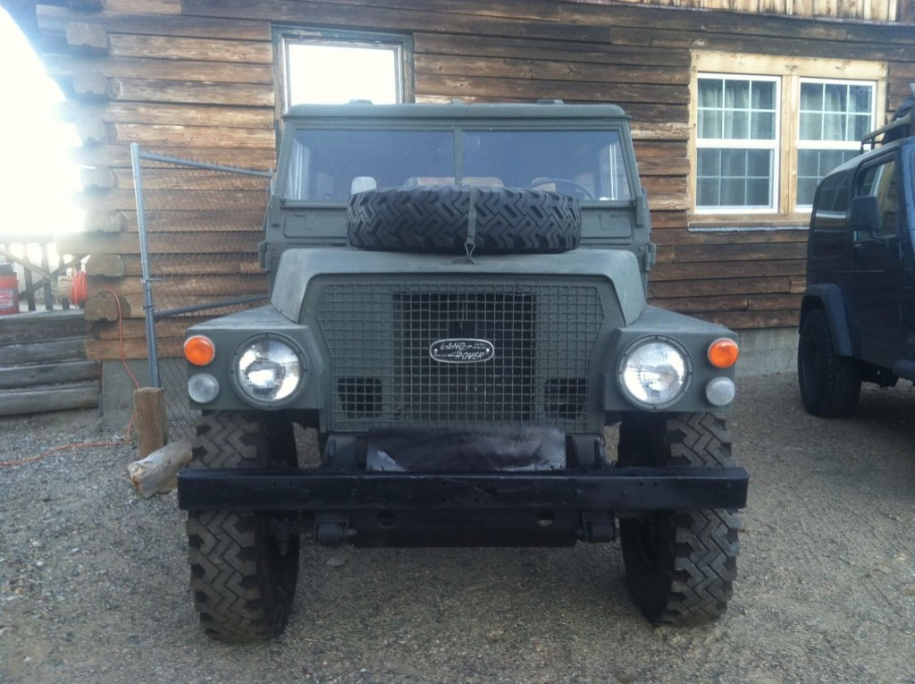 See listing for this 1971 Land Rover Series 2A Lightweight from May 11 ...