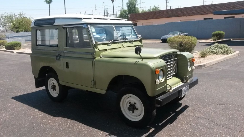 1973 Land Rover Series III   Classic & Collectible