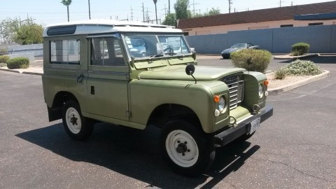 1973 Land Rover Series III   Classic & Collectible for sale
