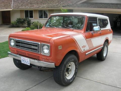 1979 International Harvester Scout Rallye for sale