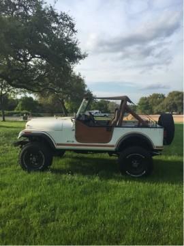 1984 Jeep CJ7 4.2L for sale