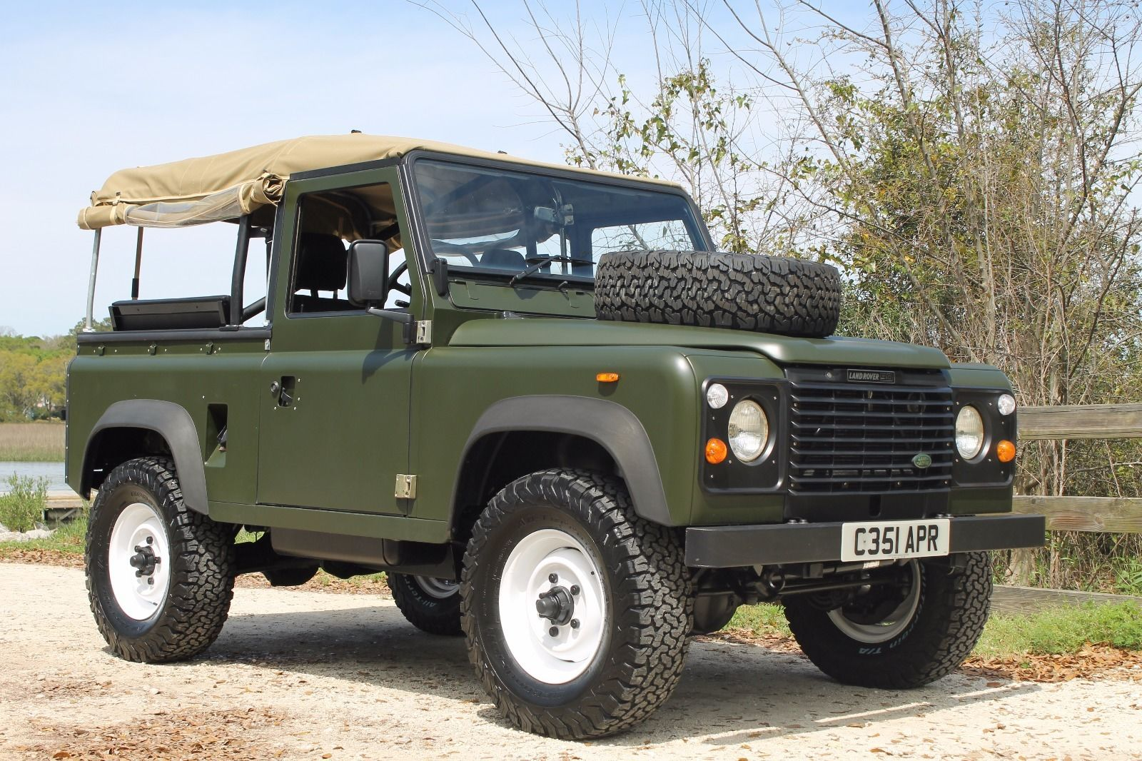 1986 land rover defender 90 diesel for sale. Black Bedroom Furniture Sets. Home Design Ideas