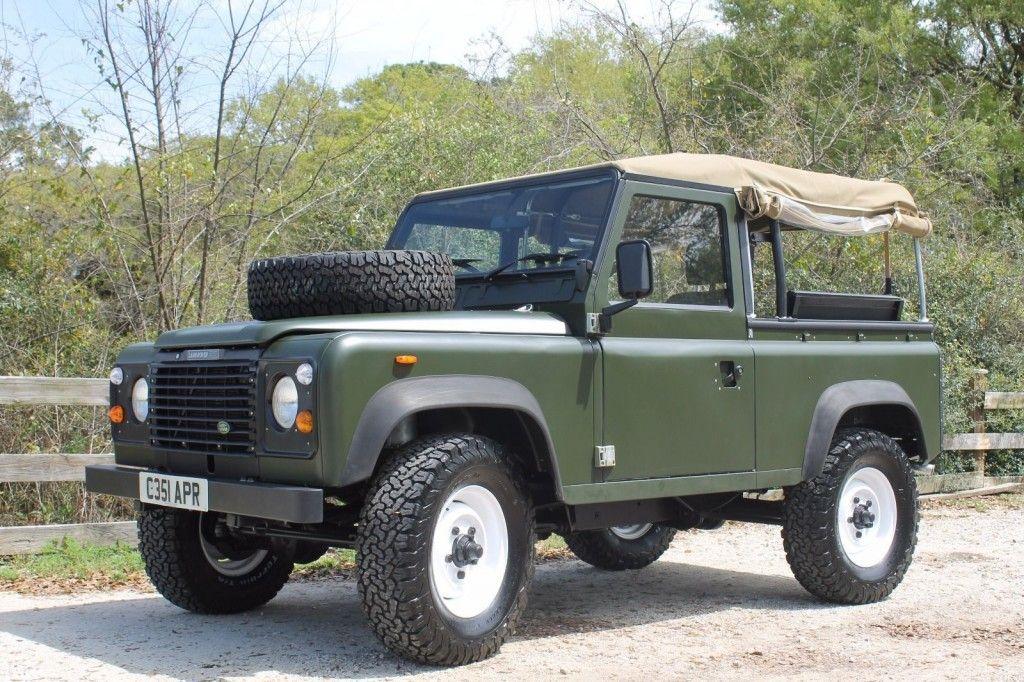 1986 land rover defender 90 diesel for sale. Black Bedroom Furniture Sets. Home Design Ideas
