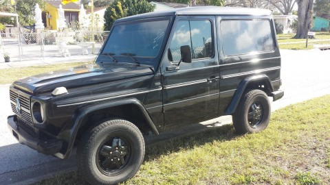 1988 Mercedes 300GD W460 4×4 4wd diesel for sale