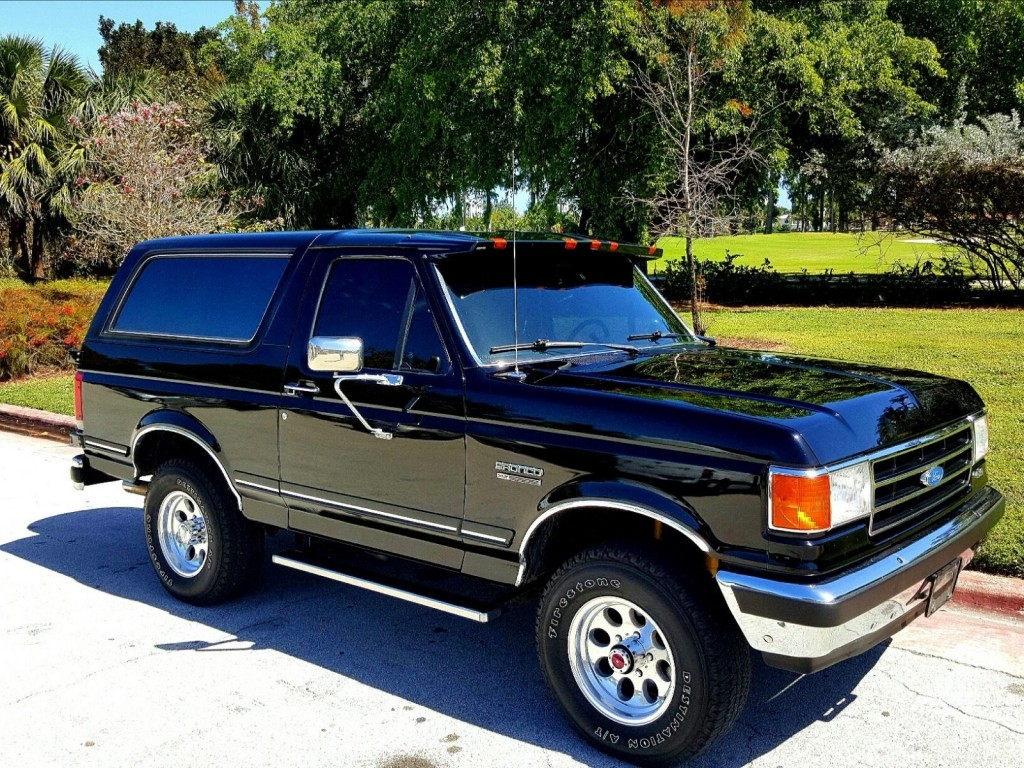 1990 Ford Bronco Xlt For Sale