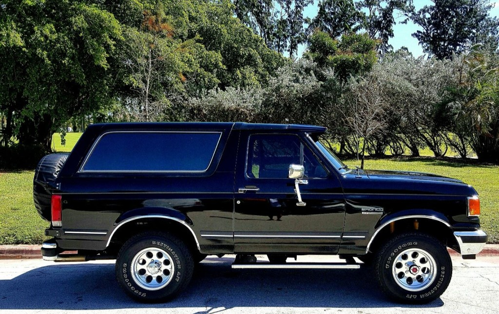 New Ford Bronco >> 1990 Ford Bronco XLT for sale