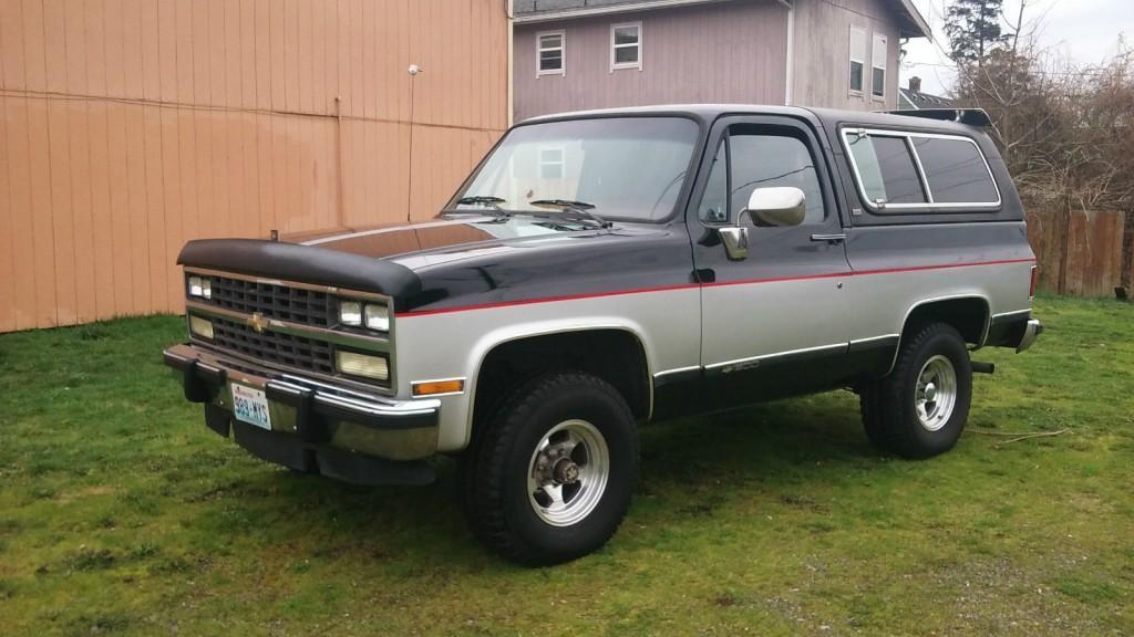 New Blazer Chevrolet >> 1991 Chevrolet k5 Blazer 4×4 for sale