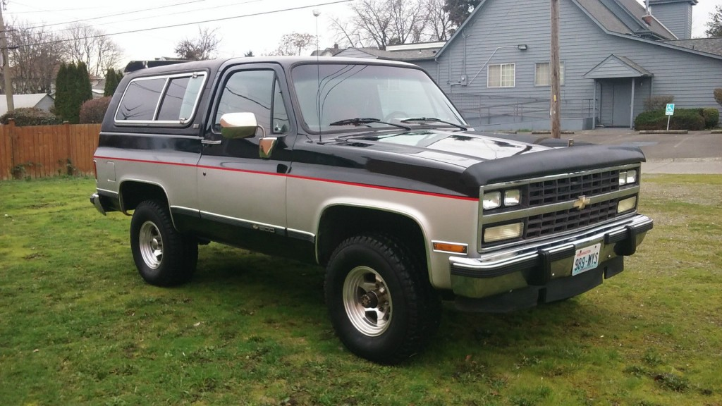 2005 Silverado For Sale >> 1991 Chevrolet k5 Blazer 4×4 for sale