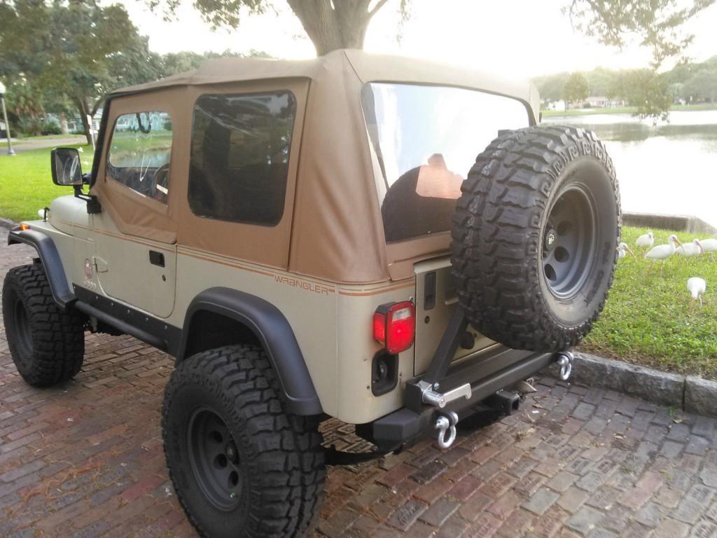 1992 jeep wrangler sahara sport utility 2 door 4 0l for sale. Black Bedroom Furniture Sets. Home Design Ideas