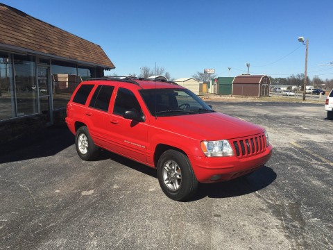 1999 Jeep Grand Cherokee Limited Sport Utility 4 Door 4.7L for sale