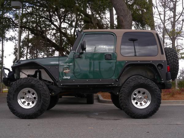 Aluminum Jeep Fenders 1999 Jeep Wrangler TJ Sahara for sale