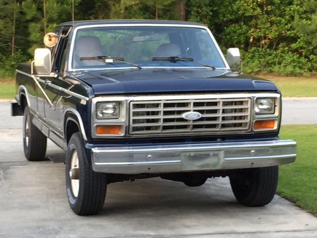 1984 ford f 250 x26 diesel 4wd for sale. Black Bedroom Furniture Sets. Home Design Ideas