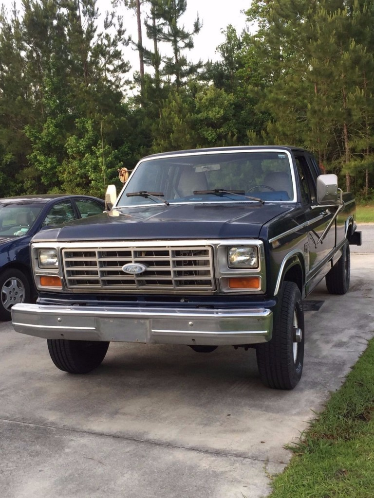 Ford F X Diesel Wd For Sale X on 1989 Ford F 150 Engine