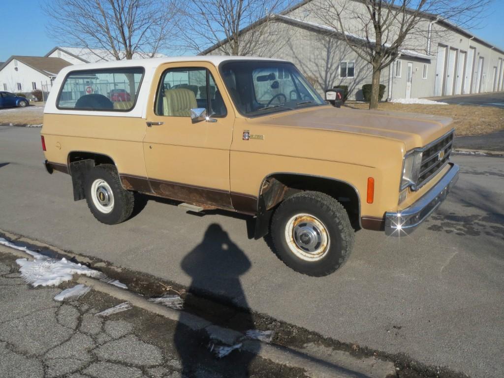 1978 Chevrolet Blazer Blazer k5 for sale