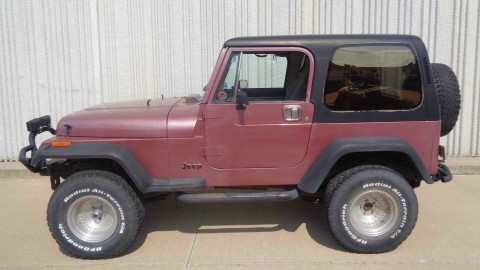 1987 Jeep Wrangler 4.2L for sale