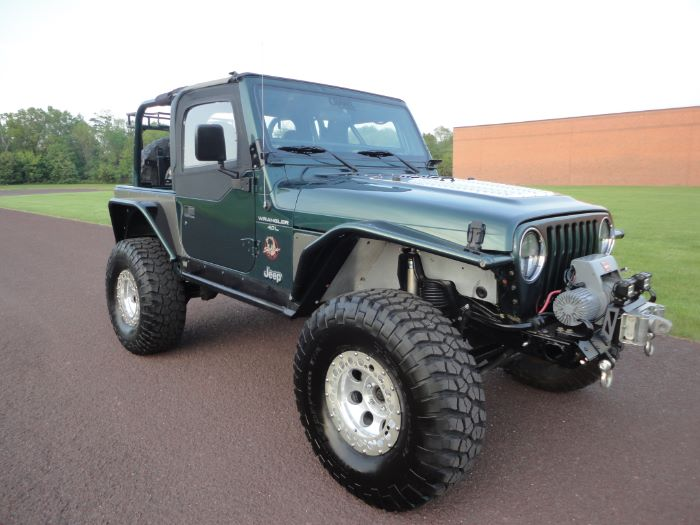 Jeep Wrangler Body Armor >> 2001 Jeep Wrangler Sahara WARN Wench for sale