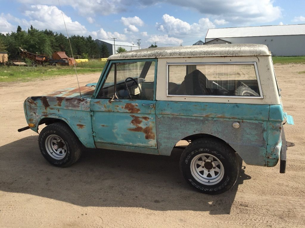 2016 Ford Bronco >> 1968 Ford Bronco for sale